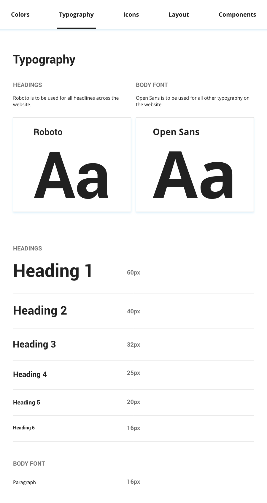 Design System: Typography
