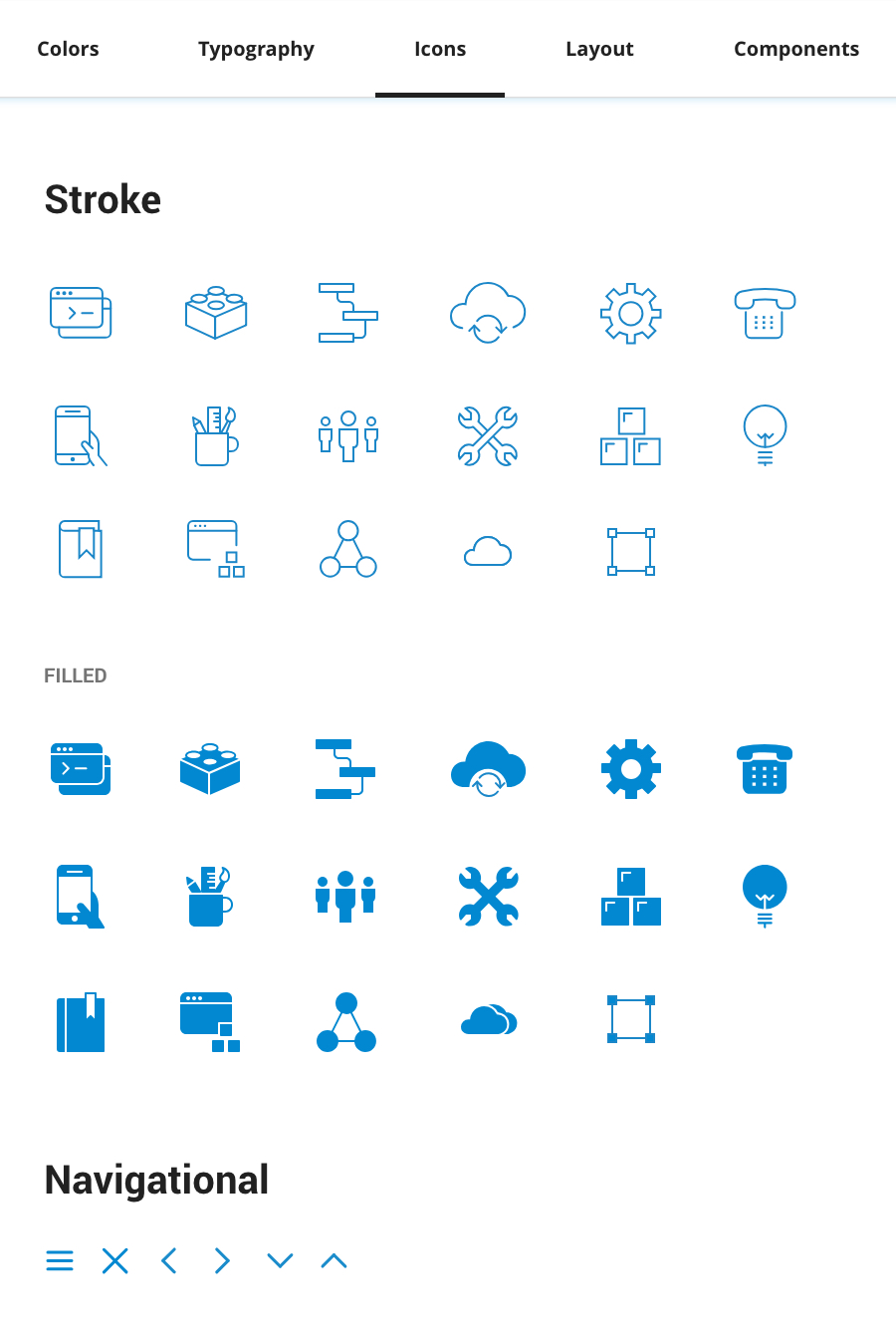 Design System: Icons